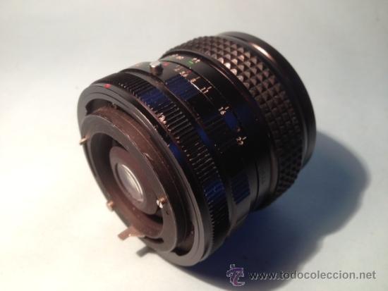 Cámara de fotos: OBJETIVO SOLIGOR, WIDE-AUTO, 1:2,8, 28 mm, 58 de diametro - Foto 4 - 37846574