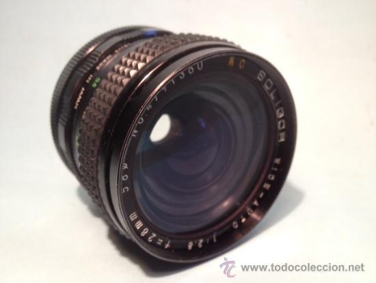 Cámara de fotos: OBJETIVO SOLIGOR, WIDE-AUTO, 1:2,8, 28 mm, 58 de diametro - Foto 5 - 37846574