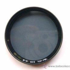Cámara de fotos: FILTRO POLARIZADOR B&W TOP-POL. Lote 38036490