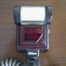 Cámara de fotos: FLASH NIKON SPEEDLIGHT SB-20 + CABLE. Lote 38194322