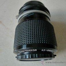 Cámara de fotos - Nikon objetivo Zoom Nikkor 43-86 mm 1:3.5. Impecable - 38812201