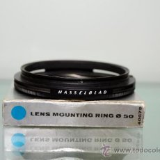 Cámara de fotos: HASSELBLAD LENS MOUNT RING 40679 FOR LENS SHADE. Lote 39123366