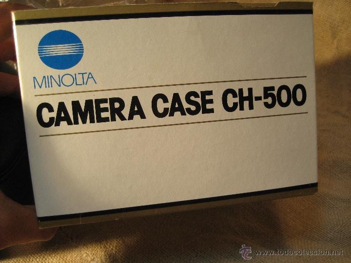 Cámara de fotos: FUNDA CAMARA MINOLTA REFLEX. MODELO CH-500 NUEVA SIN USO - Foto 2 - 39423874