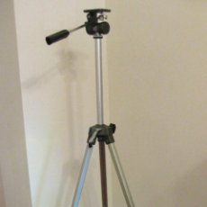 Cámara de fotos: TRÍPODE TELESCÓPICO PARA CÁMARA FOTOGRÁFICA, EXTENDIDO: 150 CM.; PLEGADO: 58 CM; SIN USO, IMPECABLE. Lote 40080916