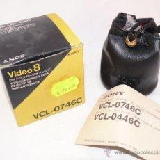Cámara de fotos: OBJETIVO SONY VIDEO 8 VCL 0746C CAMARA ANTIGUA VINTAGE CINE. Lote 40018597