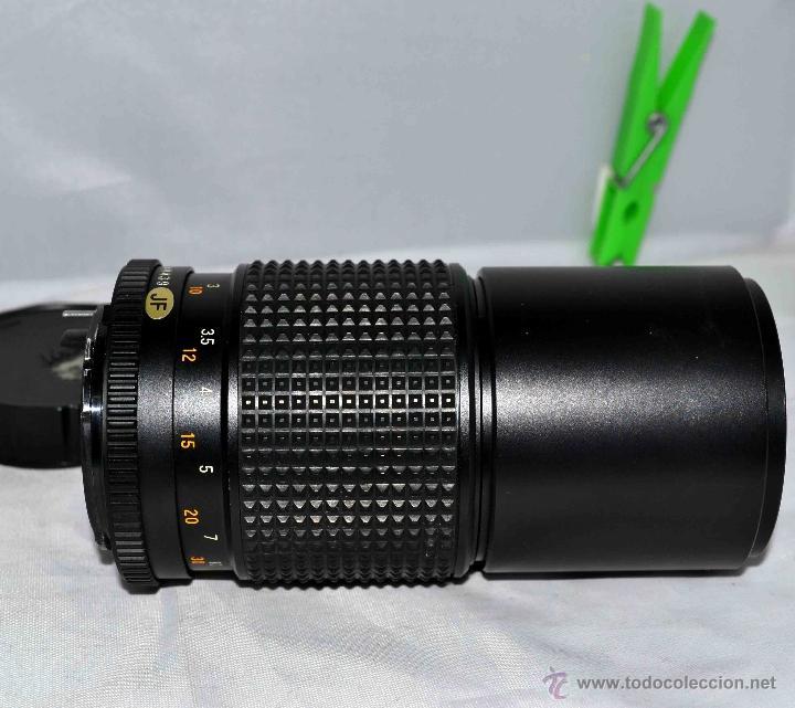 Cámara de fotos: OBJETIVO REFLEX..EXCELENTE TELE DE 200mm, f:4..MAMIYA SEKOR E....FUNCIONA - Foto 3 - 96490279