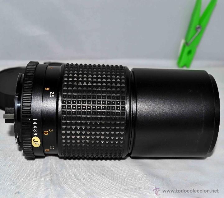 Cámara de fotos: OBJETIVO REFLEX..EXCELENTE TELE DE 200mm, f:4..MAMIYA SEKOR E....FUNCIONA - Foto 4 - 96490279