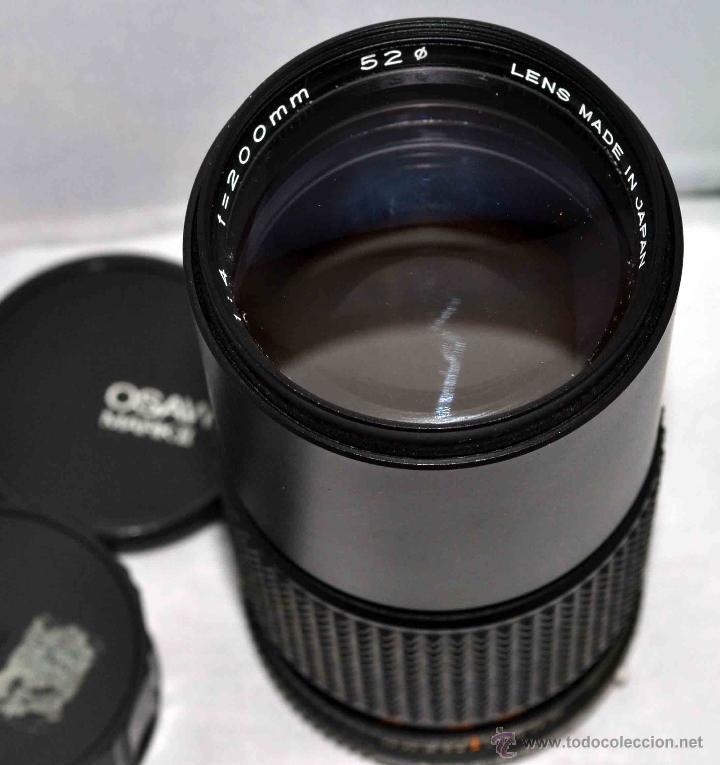 Cámara de fotos: OBJETIVO REFLEX..EXCELENTE TELE DE 200mm, f:4..MAMIYA SEKOR E....FUNCIONA - Foto 5 - 96490279