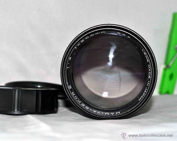 Cámara de fotos: OBJETIVO REFLEX..EXCELENTE TELE DE 200mm, f:4..MAMIYA SEKOR E....FUNCIONA - Foto 6 - 96490279