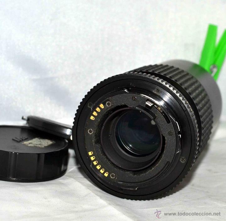 Cámara de fotos: OBJETIVO REFLEX..EXCELENTE TELE DE 200mm, f:4..MAMIYA SEKOR E....FUNCIONA - Foto 9 - 96490279