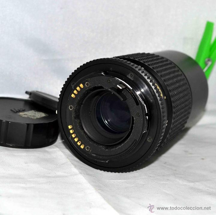 Cámara de fotos: OBJETIVO REFLEX..EXCELENTE TELE DE 200mm, f:4..MAMIYA SEKOR E....FUNCIONA - Foto 10 - 96490279