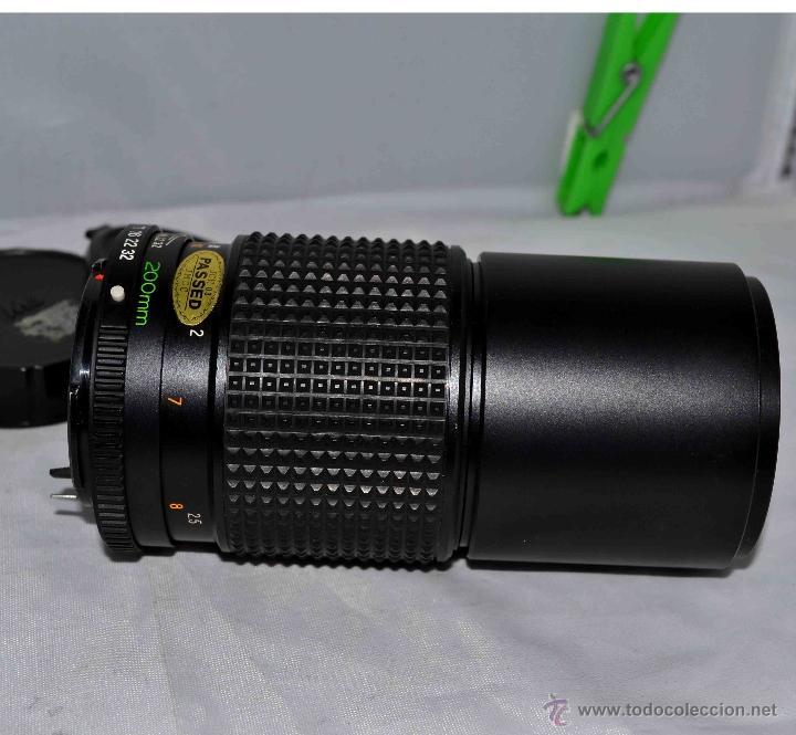 Cámara de fotos: OBJETIVO REFLEX..EXCELENTE TELE DE 200mm, f:4..MAMIYA SEKOR E....FUNCIONA - Foto 11 - 96490279