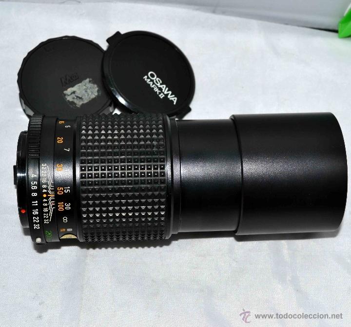 Cámara de fotos: OBJETIVO REFLEX..EXCELENTE TELE DE 200mm, f:4..MAMIYA SEKOR E....FUNCIONA - Foto 12 - 96490279