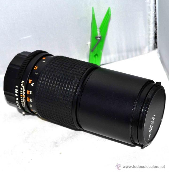 Cámara de fotos: OBJETIVO REFLEX..EXCELENTE TELE DE 200mm, f:4..MAMIYA SEKOR E....FUNCIONA - Foto 15 - 96490279