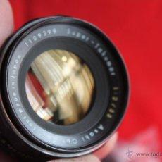 Cámara de fotos: OBJETIVO SUPER TAKUMAR 55MM F:2 (ROSCA 42MM). Lote 42461641