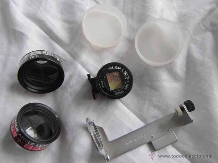 Cámara de fotos: Juego de objetivos Kalimar en funda original de cremallera. K-190 - Foto 7 - 42622676