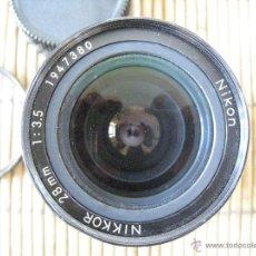 Cámara de fotos: NIKKOR 28 MM. Lote 42675355