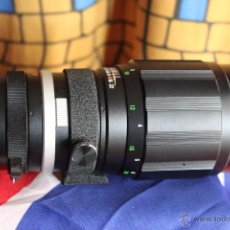 Cámara de fotos: TELE 200MM F3,5 SOLIGOR (CANON EOS). Lote 42697671