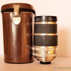 Cámara de fotos: SUPER DYNAREX VOIGTLANDER F1:4/135MM + ESTUCHE ORIGINAL / EXCELENTE ESTADO. Lote 43532991