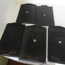 Cámara de fotos - lote 5 porta placas voigtlander yoigtlander 16.5x10 cm - 43870191