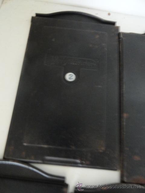Cámara de fotos: lote 5 porta placas voigtlander yoigtlander 16.5x10 cm - Foto 3 - 43870191