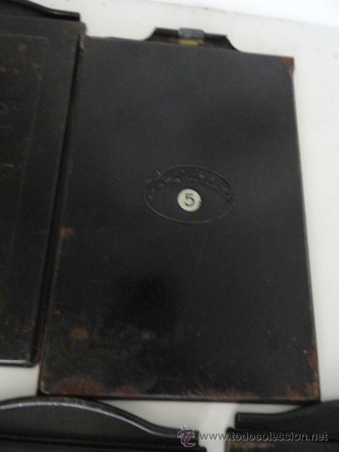 Cámara de fotos: lote 5 porta placas voigtlander yoigtlander 16.5x10 cm - Foto 4 - 43870191