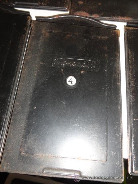 Cámara de fotos: lote 5 porta placas voigtlander yoigtlander 16.5x10 cm - Foto 5 - 43870191