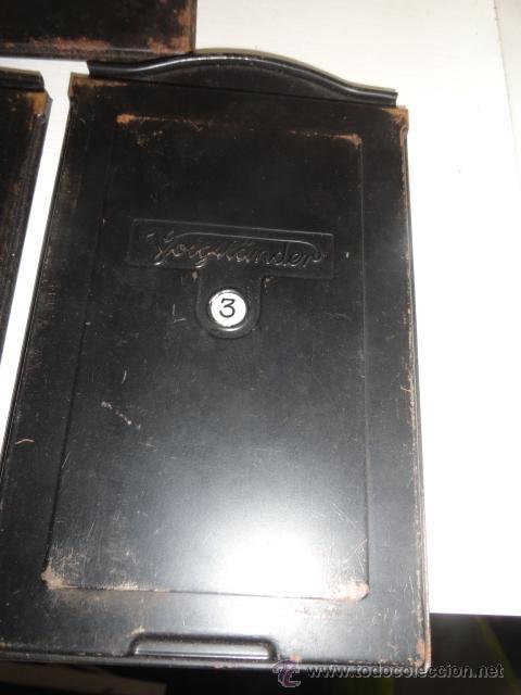 Cámara de fotos: lote 5 porta placas voigtlander yoigtlander 16.5x10 cm - Foto 6 - 43870191