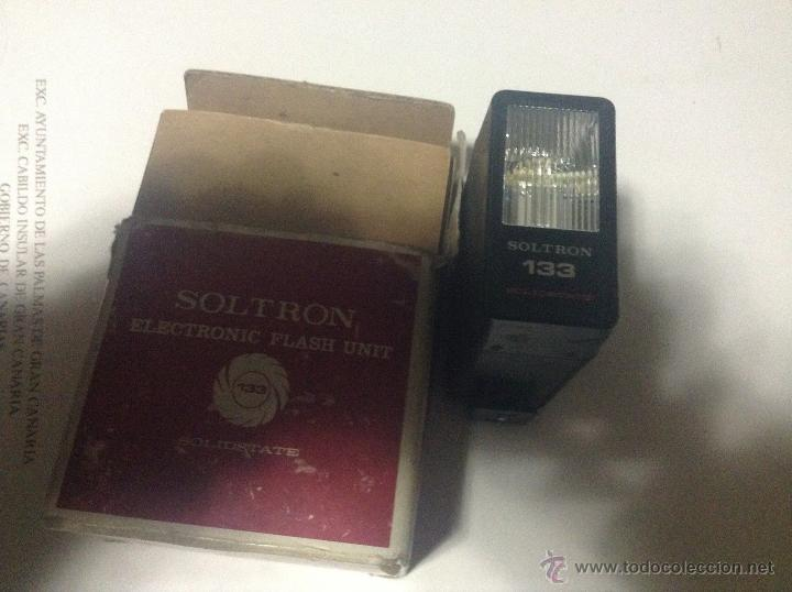 FLASH SOLTRON 133 - ELECTRONIC FLASH UNIT (Cámaras Fotográficas Antiguas - Objetivos y Complementos )