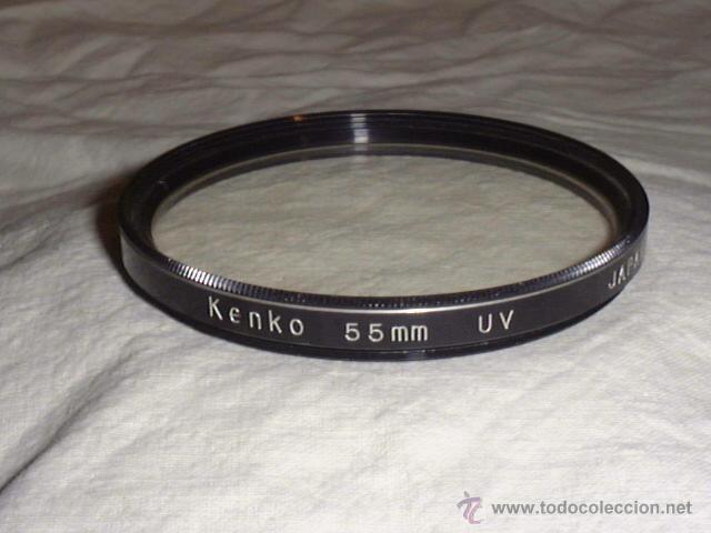 KENKO 55MM UV MADE IN JAPAN FILTRO FOTOGRAFIA VINTAGE (Cámaras Fotográficas Antiguas - Objetivos y Complementos )