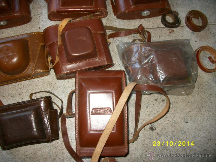 Cámara de fotos: FUNDAS DE CUERO PARA CAMARA ANTIGUA - Foto 4 - 45842477