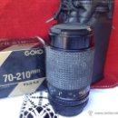 Cámara de fotos: OBJETIVO DE CAMARA GOKO CANON GRAN ANGULAR. Lote 46032483