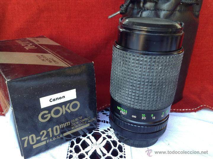 Cámara de fotos: OBJETIVO DE CAMARA GOKO CANON GRAN ANGULAR - Foto 2 - 46032483