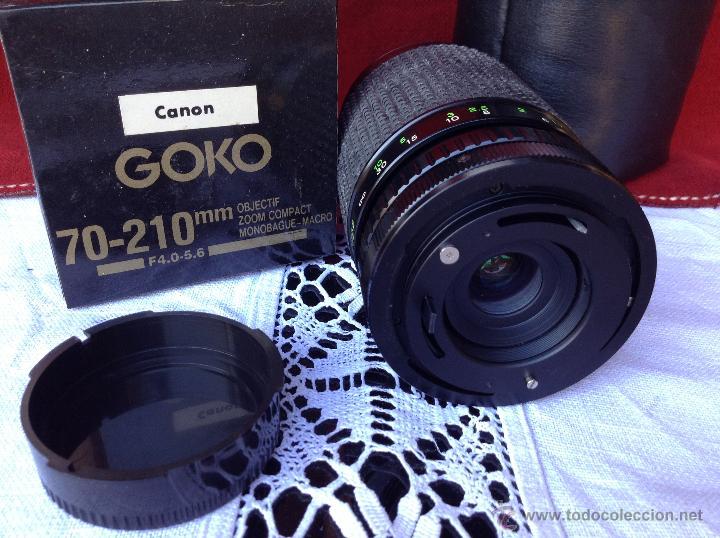 Cámara de fotos: OBJETIVO DE CAMARA GOKO CANON GRAN ANGULAR - Foto 3 - 46032483