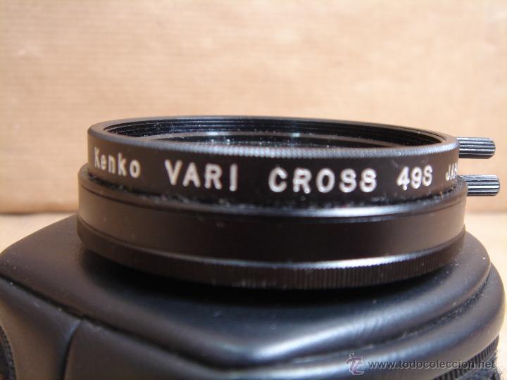 Cámara de fotos: FILTRO CAMARA - KENKO VARI CROSS 49 S JAPAN + FUNDA ORIGINAL - Foto 2 - 46471895