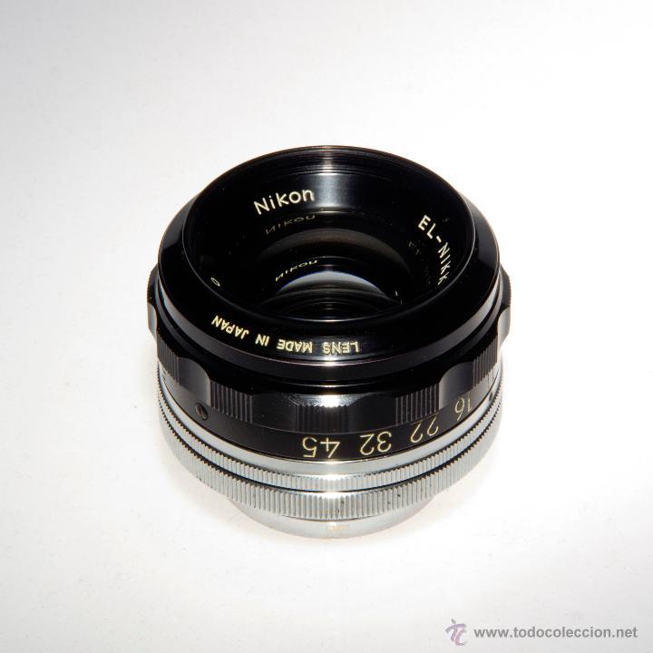 Cámara de fotos: Objetivo ampliadora (negativo 4x5), EL-NIKKOR 1:5,6 f=135mm - Foto 3 - 46552529