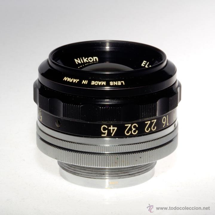 Cámara de fotos: Objetivo ampliadora (negativo 4x5), EL-NIKKOR 1:5,6 f=135mm - Foto 4 - 46552529