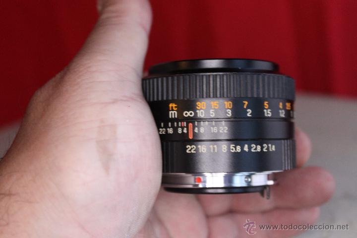Cámara de fotos: Objetivo Auto Revuenon 50mm F:1,4 (bayoneta K) - Foto 3 - 46720078