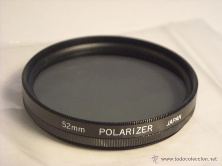 FILTRO POLARIZADOR 52MM POLARIZER JAPAN (Cámaras Fotográficas Antiguas - Objetivos y Complementos )