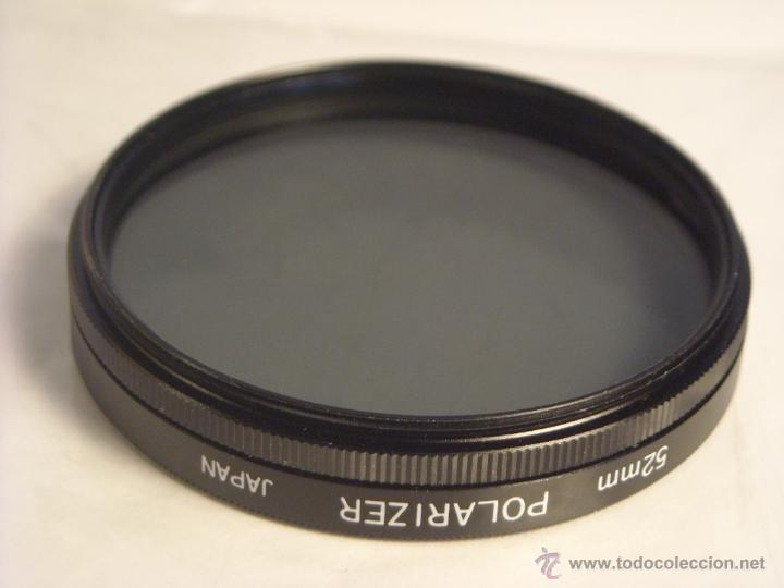 Cámara de fotos: Filtro polarizador 52mm Polarizer Japan - Foto 2 - 46958319