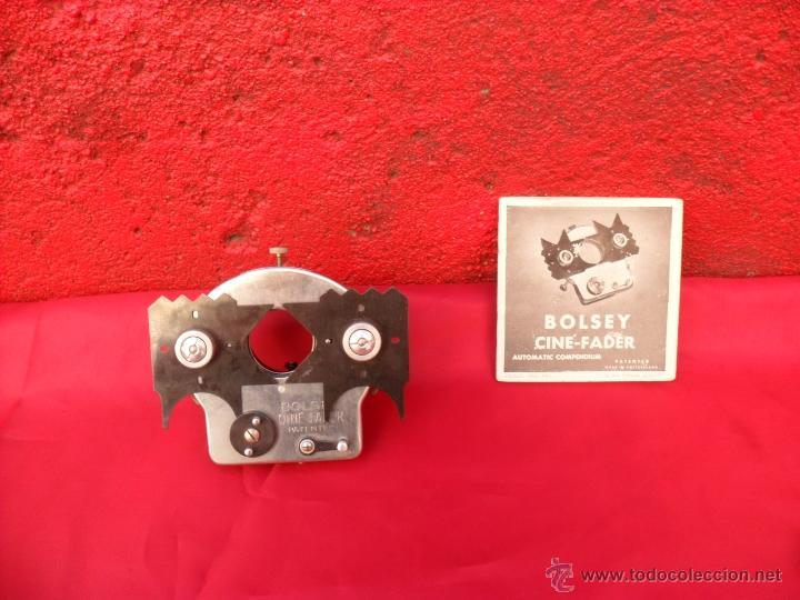 BOLSEY,COMPLEMENTO PARA CAMARAS FOTOS,FILMAR ANTIGUAS,CON LIBRITO INSTRUCCIONES DETALLADO EN FOTOS (Cámaras Fotográficas Antiguas - Objetivos y Complementos )