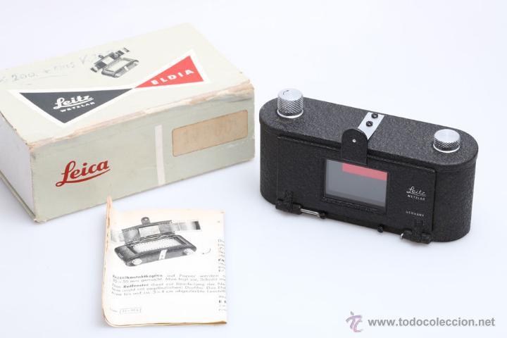 LEICA ELDIA (Cámaras Fotográficas Antiguas - Objetivos y Complementos )