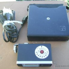 Cámara de fotos: FLASH AÑOS 70 JAPONÉS NATIONAL MINITOP CON CABLE Y FUNDA ORIGINALES. Lote 48201850