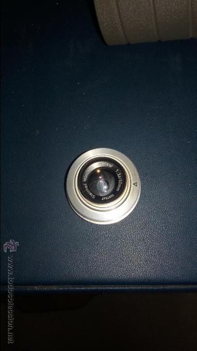 Cámara de fotos: AMPLIADORA DE FOTOGRAFÍA ZAFIR CON FILTRO Y OBJETIVO STEIN HEIL MUNCHEN 1:3.5/5MM - Foto 3 - 48206220