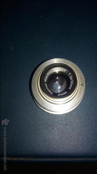 Cámara de fotos: AMPLIADORA DE FOTOGRAFÍA ZAFIR CON FILTRO Y OBJETIVO STEIN HEIL MUNCHEN 1:3.5/5MM - Foto 4 - 48206220