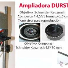 Cámara de fotos: AMPLIADORA DURST 606 Y OBJETIVOS. Lote 48306344