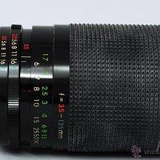 Cámara de fotos: OBJETIVO SIGMA AUTO ZOOM F 35 135 MM 1:3.5 - 4.5 58 MM SUNACTION MC CON FUNDA. Lote 48381463