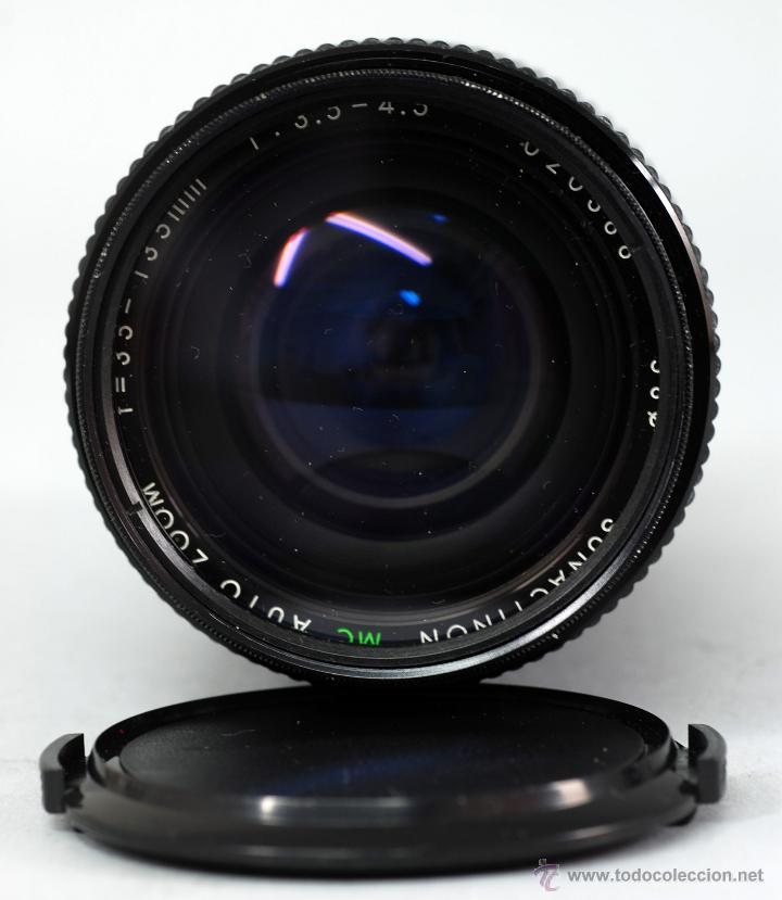Cámara de fotos: Objetivo Sigma Auto Zoom F 35 135 mm 1:3.5 - 4.5 58 mm Sunaction MC con funda - Foto 2 - 48381463
