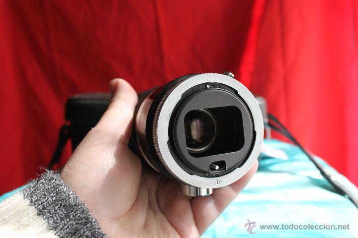 Cámara de fotos: Zoom Canon FL 55-135 mm F:3,5 + estuche de cuero original Canon - Foto 3 - 48598625