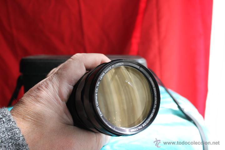 Cámara de fotos: Zoom Canon FL 55-135 mm F:3,5 + estuche de cuero original Canon - Foto 4 - 48598625